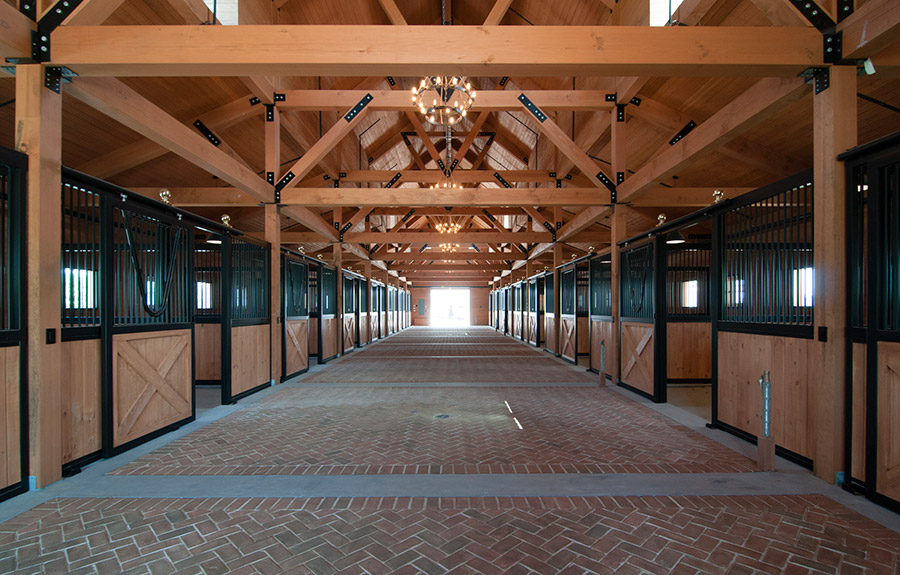 Campbell Stables Architecture For Hamptons Luxury Horse