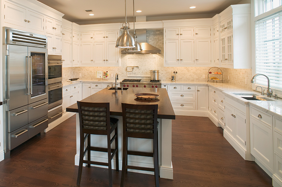 gourmet kitchen island dhmurray architecture world residence muttontown 11915