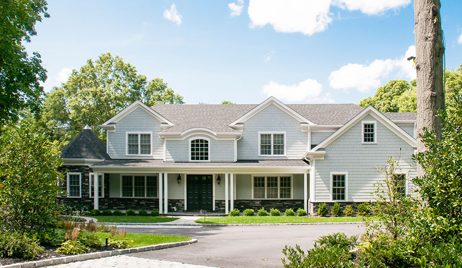 Classic Long Island Traditional Home Designs