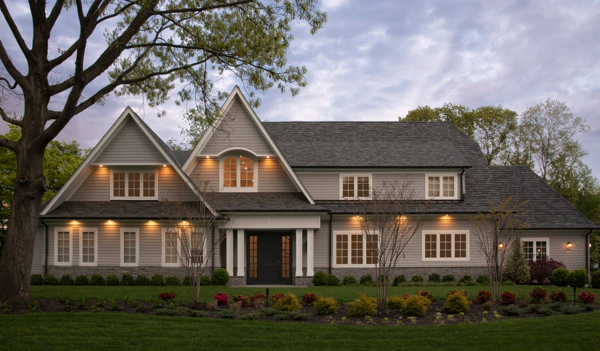 Shingle-Style Home Design in Sands Point NY by D.H.Murray Architecture