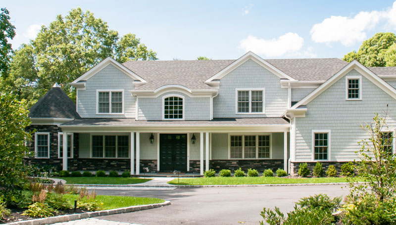 Woodbury NY Traditional Residential Architecture New Homes